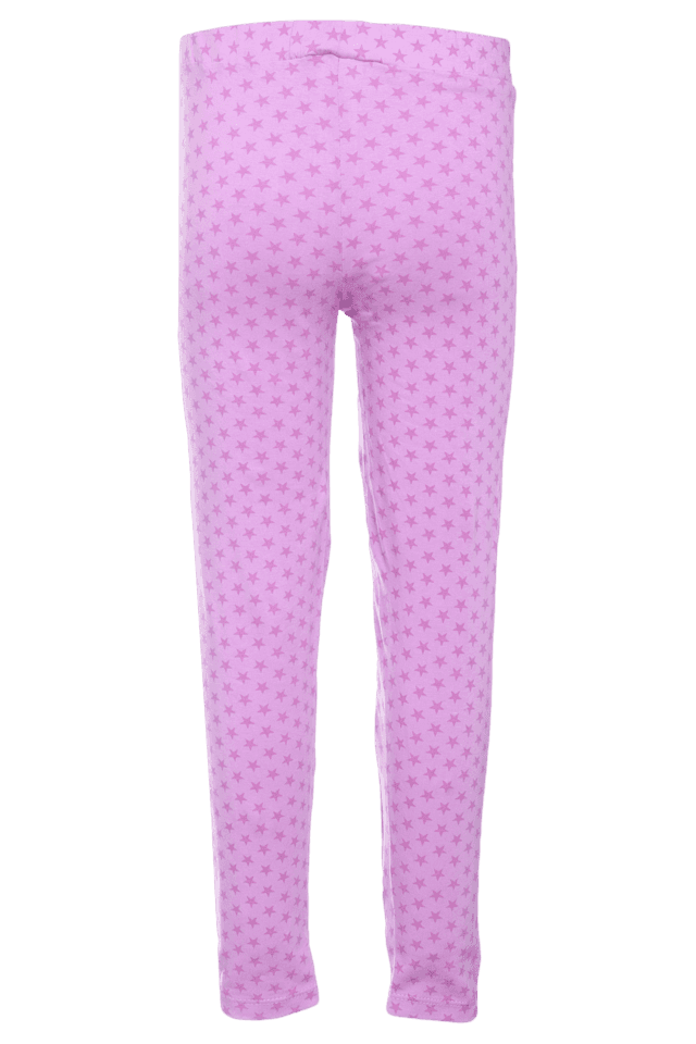 Girls Cotton Printed Leggings
