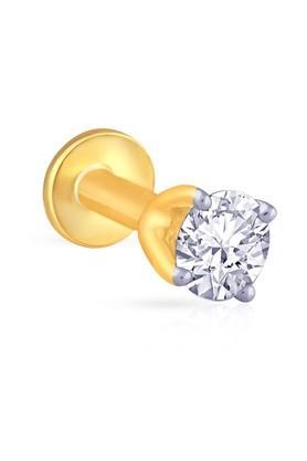 MALABAR GOLD AND DIAMONDSWomens Mine Diamond Nosepin NP651011