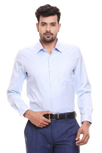 RAYMOND -  Light BlueFormal Shirts - Main