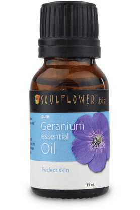 SOULFLOWER Essential Oil - Geranium