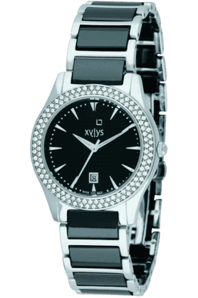 XYLYS Womens Black Dial Watch ND9766DM02