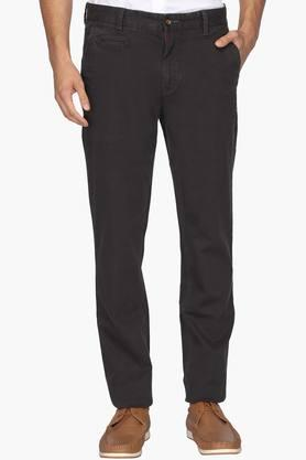 ARROW SPORTMens Chrysler Fit 5 Pocket Solid Trousers