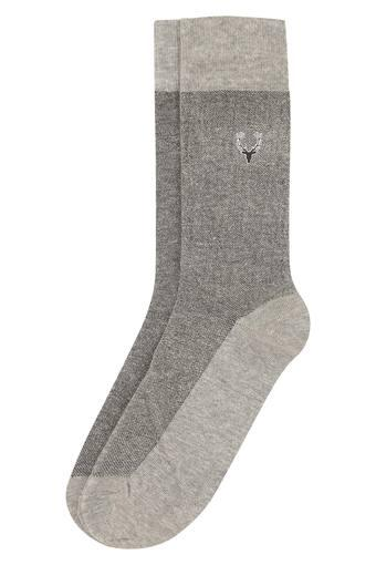 ADDON -  Grey Melange Socks - Main