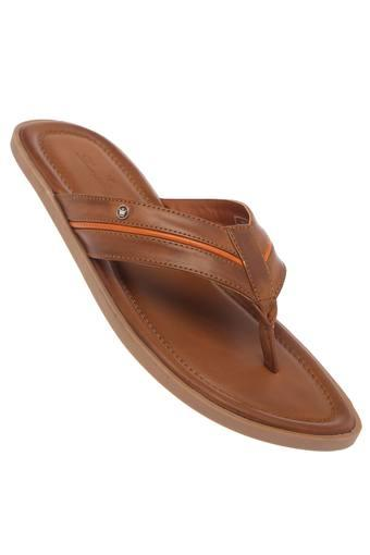 LOUIS PHILIPPE -  BrownSandals & Floaters - Main