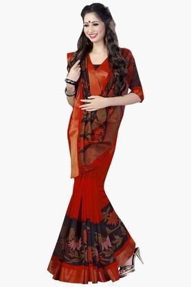 DEMARCAWomens Silk Designer Saree - 202338166
