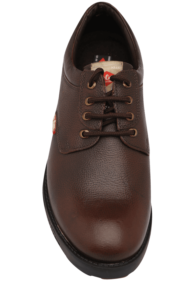 Mens Leather Lace Up Casual Shoe