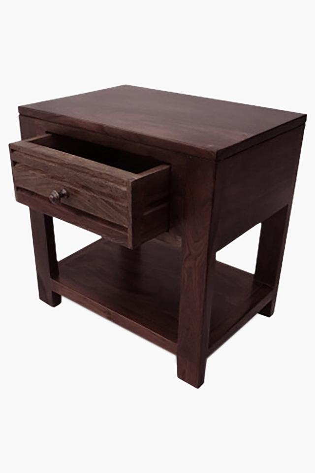 Walnut Bed Side Table