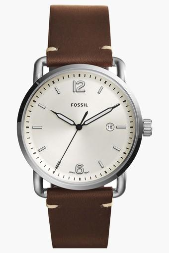 Mens Analogue Leather Watch - FS5275I