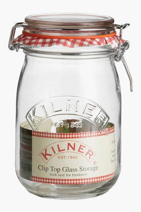 Cliptop Round Jar (1 Litre)
