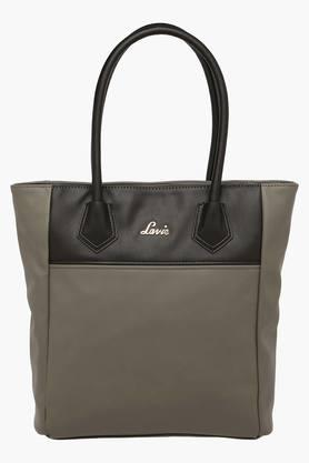 Upto 30% Off on Lavie | LAVIE Womens Silat Zipper Closure Tote Handbag By Shoppers Stop @ Rs.2,422