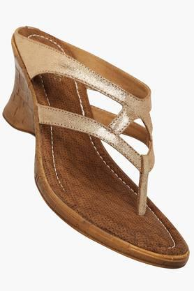 RAW HIDE Womens Casual Slipon Wedge Sandals