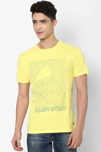ALLEN SOLLY JEANS -  YellowT-Shirts & Polos - Main