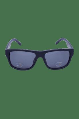 FASTRACKBlack Wayfarer Unisex Sunglasses-P300BK1P