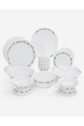 CORELLE New Leaf Dinner Set (Set Of 30)