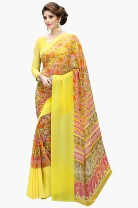 DEMARCAWomen Georgette Designer Saree - 202142777