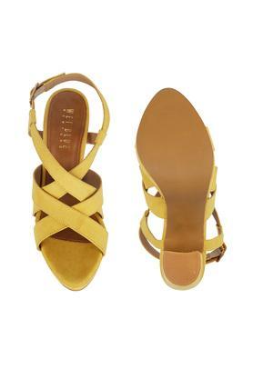 Womens Casual Wear Multi Strap Block Heels