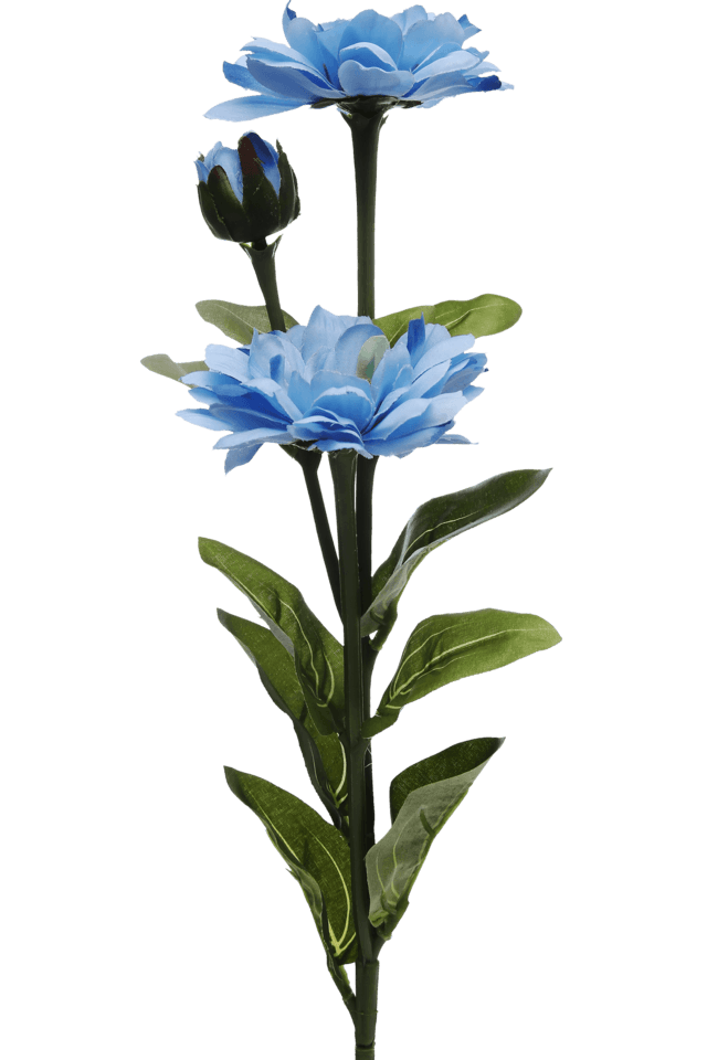 Blue Rose Spray - 68 Cm