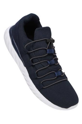 ALLEN SOLLY -  Navy Sports Shoes - Main