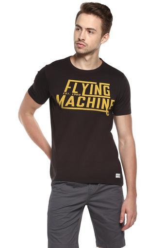 FLYING MACHINE -  BrownT-shirts - Main