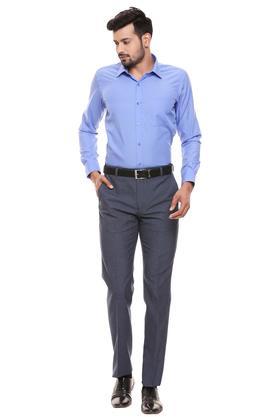 RAYMOND - Dark BlueFormal Shirts - 3