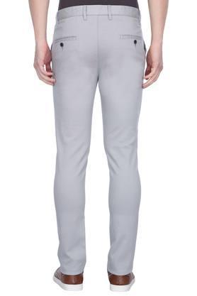 STOP - GreyFormal Trousers - 1
