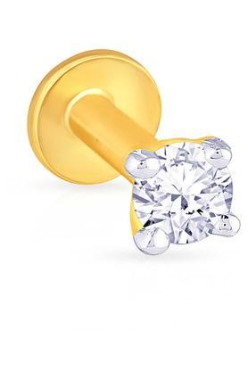 MALABAR GOLD AND DIAMONDSWomens Diamond Nosepin UINSP00058