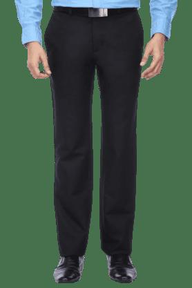 LOUIS PHILIPPEMens Flat Front Regular Fit Solid Trouser