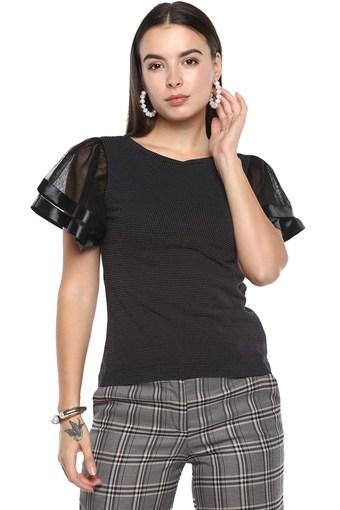 ELLIZA DONATEIN -  BlackPvt Brand Women Western Flat 20% Off - Main