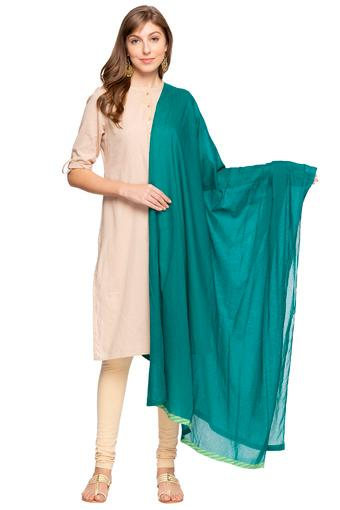 W -  Green Churidar & Salwars & Dupattas - Main