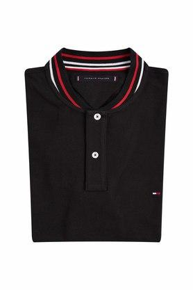 TOMMY HILFIGER - Black T-Shirts & Polos - 2