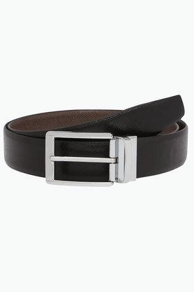 Mens Leather Formal Buckle Belt