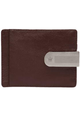LOUIS PHILIPPE Mens Mix Leather Card Holder