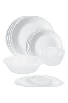 CORELLE Dinner Set (Set Of 16) - Winter Frost White