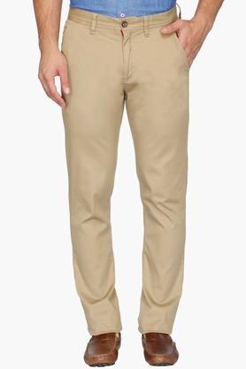 ARROW SPORT Mens 5 Pocket Solid Trousers (Chrysler Fit)