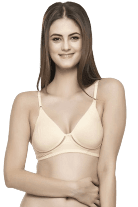 Cotton Rich Non Padded Wirefree T-Shirt Bra