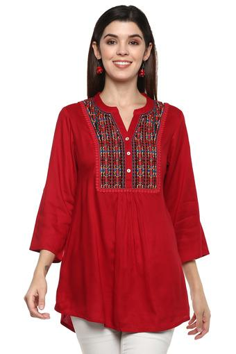 SANAA -  Red  STOP, KASHISH, HAUTE CURRY, BACK TO EARTH, SANAA - Buy 2 Get 50% Off - Main