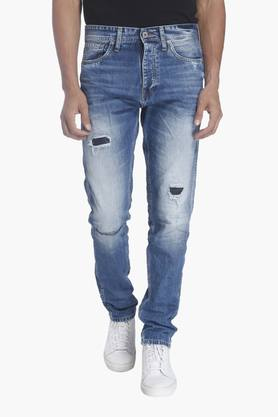 JACK AND JONES Mens 5 Pocket Stretch Jeans (Erik Fit)