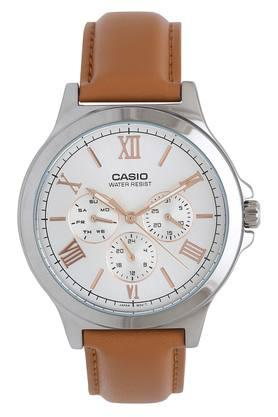 Mens White Dial Multi-Function Watch - A1690