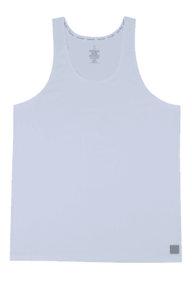 CALVIN KLEIN UNDERWEAR Mens Stretch Solid Round Neck Vest