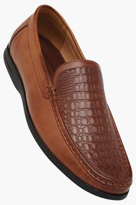 TRESMODE Mens Leather Slip On Formal Loafers  ... - 202252430