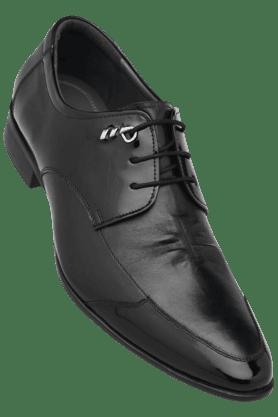 IWALKMens Leather Lace Up Smart Formal Shoe
