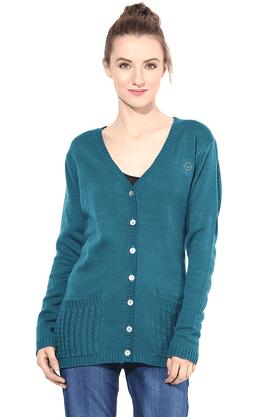 THE VANCAWomen Woollen Sweater - 200344436