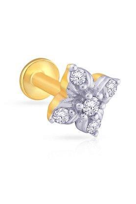 MALABAR GOLD AND DIAMONDSWomens Mine Diamond Nosepin AMNP88A0003