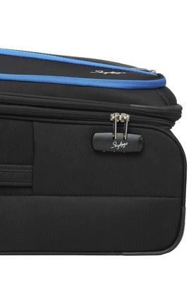 Unisex Zipper Closure Soft Trolley