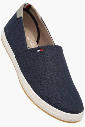 Mens Canvas Slip On Loafers - 202188391