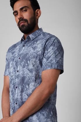 LIFE - NavyCasual Shirts - 4