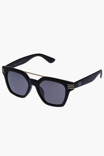 Unisex Regular Polycarbonate Sunglasses VS178C1BK