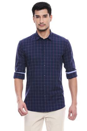 FRATINI - NavyCasual Shirts - Main