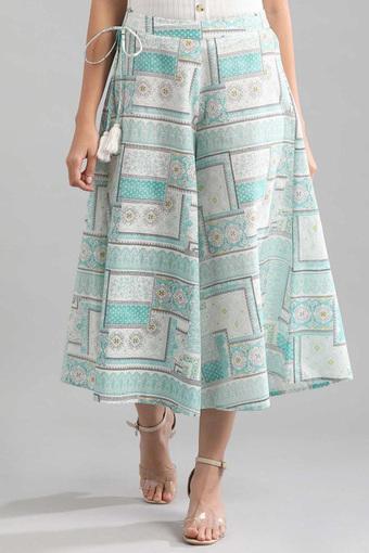 AURELIA -  Blue MixCapris & Shorts - Main
