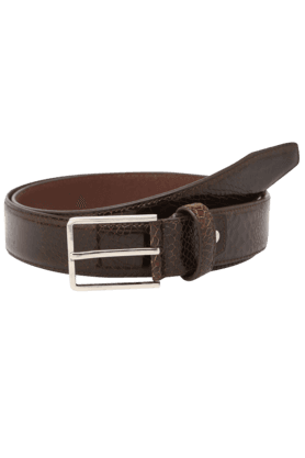 Mens Leather Single Side Casual Belt